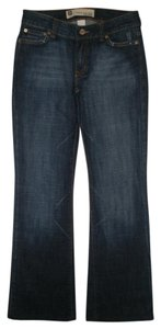 Gap 5 Pocket Style Zip Fly Boot Cut Jeans-Dark Rinse
