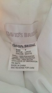 David's Bridal L9520 Wedding Dress