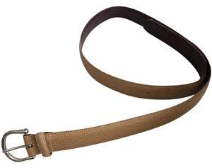 Coach Snakeskin Tan Coach Belt