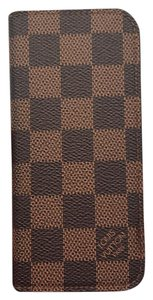 Louis Vuitton Authentic Louis Vuitton iPhone 6 Folio N61242