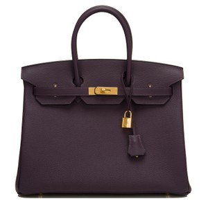 Hermès Raisin Purple Hermes Birkin Tote