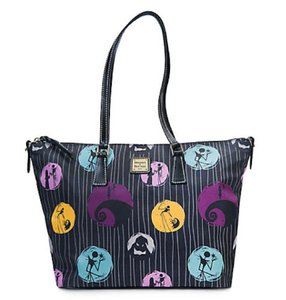 Dooney & Bourke Nightmare Christmas & Tote in Black