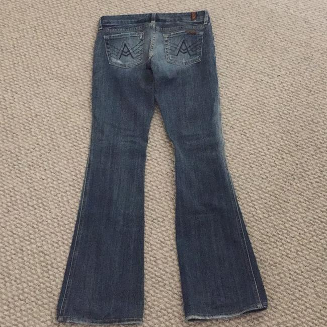 Seven7 Boot Cut Jeans-Distressed Image 1