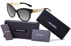 Dolce&Gabbana Cat-eye floral filigrana sunglasses Limited Edition runway Collection