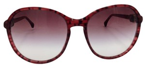 Chanel Chanel Oval Red Sunglasses 5217 c.1306/3P 56