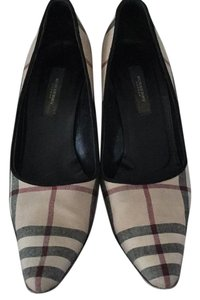 Burberry London plaid Pumps
