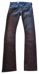 AG Adriano Goldschmied Corduroy Stretch Cords Boot Cut Pants brown