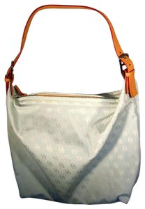 Dooney & Bourke And Db Signature & Hobo Bag