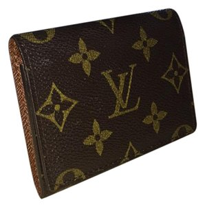 Louis Vuitton Monogram Envelope Cartes De Visite Business Card Holder