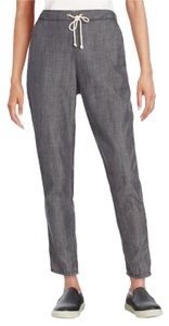 Eileen Fisher Relaxed Fit Joggers Relaxed Pants Faded Black Denim