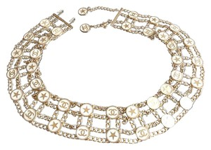Chanel Vintage multi-chain and multi-coin gold belt
