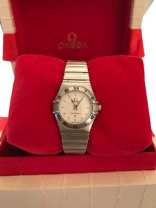Omega Omega Constellation Stainless Steel Womens Watch