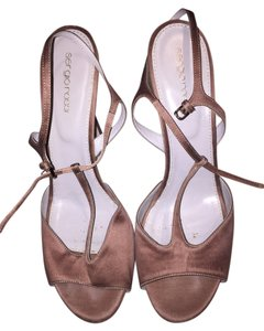 Sergio Rossi Summer Spring Stiletto Designer Bronze Pumps