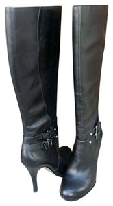 Arturo Chiang Black Leather Boots