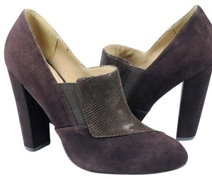 Isola Suede Chunky Classic Luxury Coffee Suede Boots