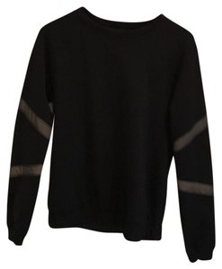 Lululemon Lululemon black reflective strip sweatshirt