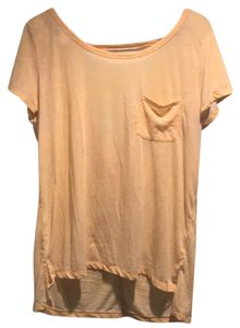 American Eagle Outfitters T Shirt soft yellow