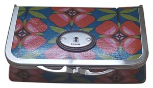 Fossil Fossil Floral Key Per Kiss Lock Cosmetic Case