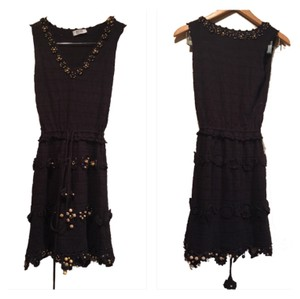 Moschino short dress Black and Tan on Tradesy