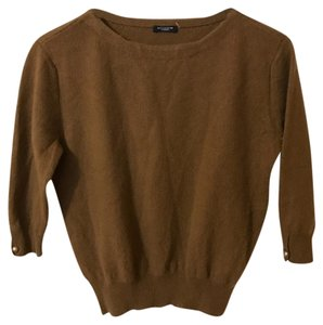Magaschoni Cashmere 3/4 Sleeve Boatneck Sweater