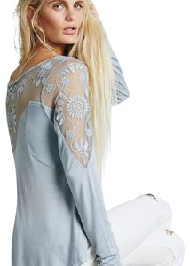 Free People Top light purple / blue
