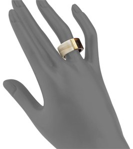 Michael Kors Michael Kors tortoise acetate color block ring