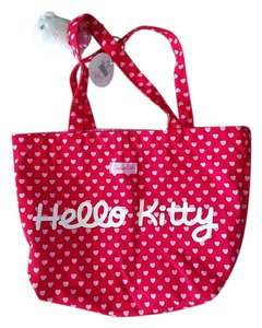 Sanrio Hello Kitty Tote in red