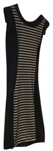 Bebe black and white stripe dress short dress black and white on Tradesy