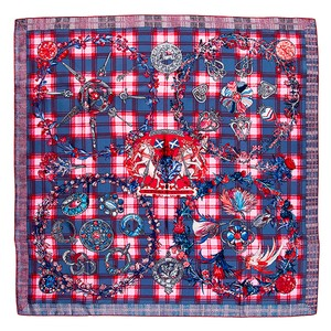 Hermès Hermes Scarf Fleurs D'ecosse Sylvia Kerr New In Box With Tag