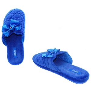 Vecceli Italy Comfortstyle Slippers Lightweight Blue Sandals