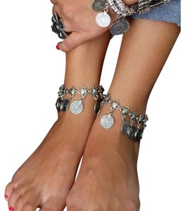Next Level Dress Bohemian Coin Ankle Bracelet