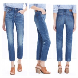 Madewell Straight Leg Jeans-Distressed