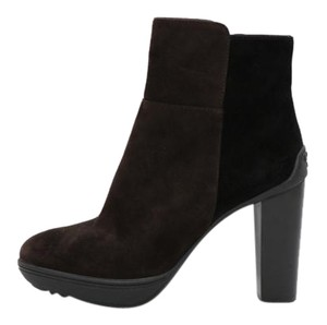 Tod's Ankle Brown and Black Boots