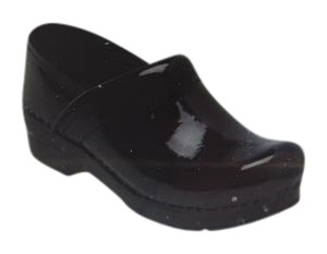 Dansko Patent Leather black Mules