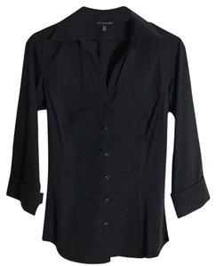 Zac & Rachel Button Down Shirt Black