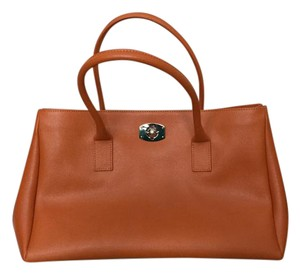 Furla Quality Italian Couture Satchel in Orange