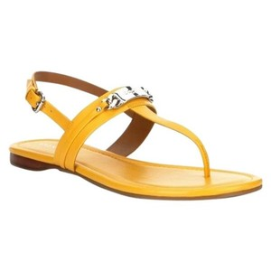 Coach Yellow Caterine Sandals