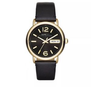 Marc by Marc Jacobs Marc by Marc Jacobs fergus gold black watch
