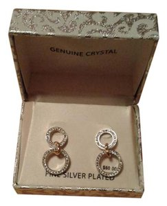 Other Fine silver plated genuine crystal earings