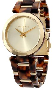 Marc by Marc Jacobs Michael Kors tortoise acetate gold delray watch