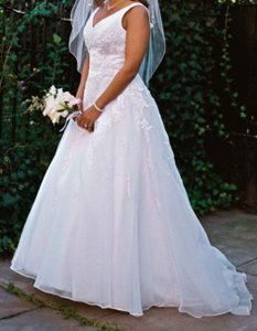 David's Bridal 9v3434 Wedding Dress