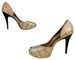 Carlos by Carlos Santana Brown, Cream, Gold, Nude Pumps