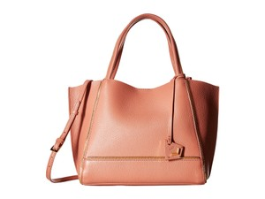 Botkier Soho Leather Tote in Rose