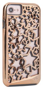 Case-Mate iPhone 7 Case - Rose Gold and Grey Stars