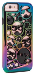 Case-Mate iPhone 6/6s/7 Case - Iridescent and Black Emoji