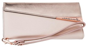 Case-Mate iPhone 7 - Rose Gold Blush Leather Folio Wristlet