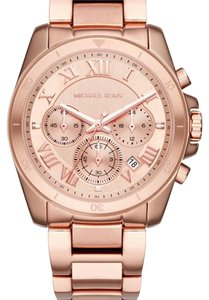 Michael Kors Michael Kors rose gold brecken chronograph watch