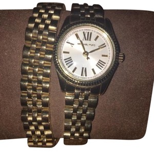 Michael Kors Michael Kors gold wrap around watch