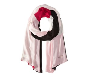 Kate Spade Neapolitan oblong Pastry Pink Scarf