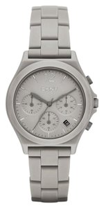 DKNY DKNY parsons gray ceramic chronograph watch